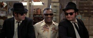 Blues Brothers with Ray Charles