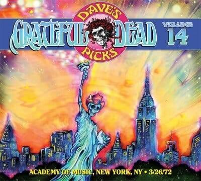 Grateful Dead Dave's Picks 14 cover NYC