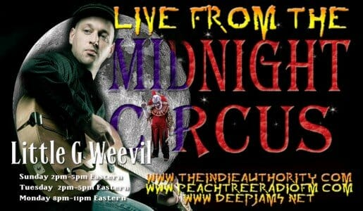 LIVE from the Midnight Circus 6/23/2015 With Little G Weevil