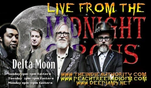 LIVE from the Midnight Circus 6/21/2015 with Delta Moon!