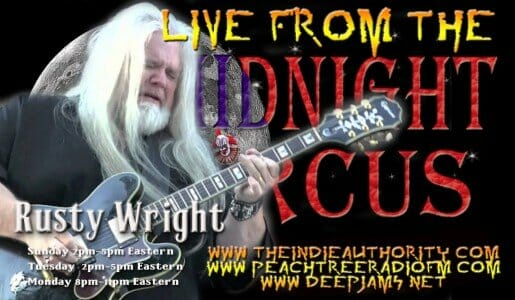 LIVE from the Midnight Circus 6/28/2015 with Rusty Wright