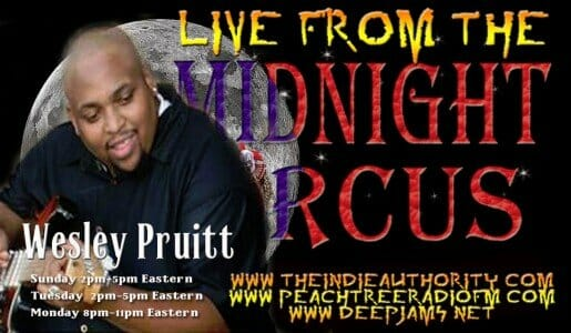 LIVE from the Midnight Circus 6/22/2015 with Wesley Pruitt
