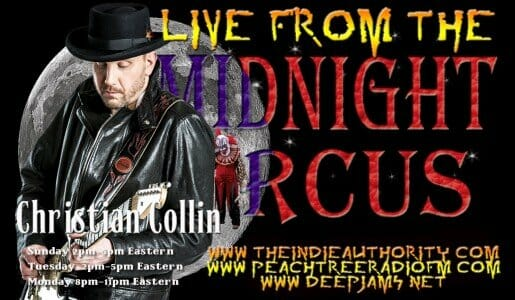 LIVE from the Midnight Circus 7/7/2015 with Christian Collin!