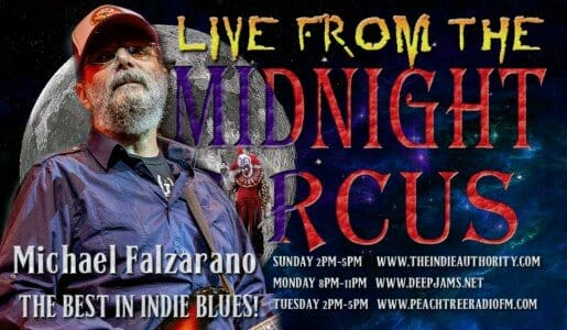 LIVE from the Midnight Circus 7/28/2015 with Michael Falzarano!!