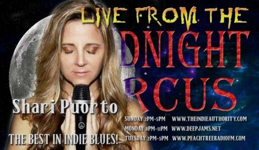 LIVE from the Midnight Circus 7/21/2015 with Shari Puorto!
