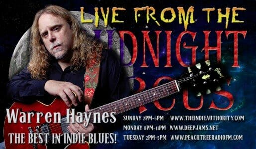 LIVE from the Midnight Circus 7/27/2015 With Warren Haynes!
