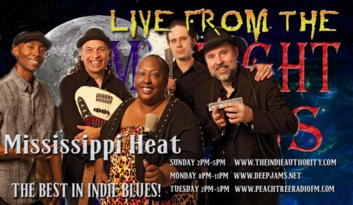 LIVE from the Midnight Circus 7/14/2015 with Mississippi Heat!