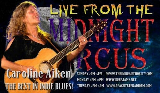 LIVE from the Midnight Circus 8/17/2015 with Caroline Aiken