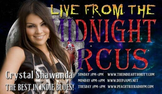 LIVE from the Midnight Circus 8/16/2015 with Crystal Shawanda!