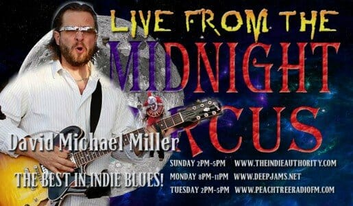 LIVE from the Midnight Circus 8/4/2015 with David Michael Miller
