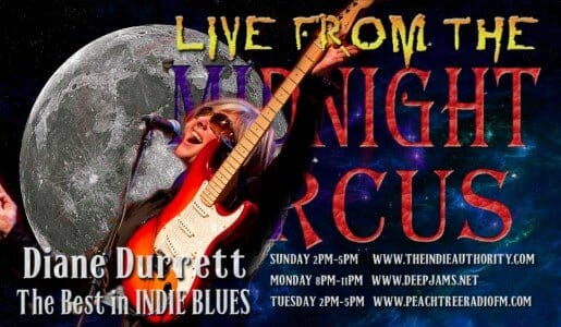 LIVE from the Midnight Circus 8/23/2015 with Diane Durrett