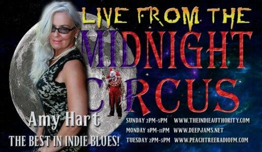 LIVE from the Midnight Circus 8/11/2015 with Amy Hart!