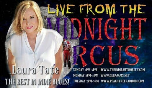 LIVE from the Midnight Circus 8/18/2015 with Laura Tate