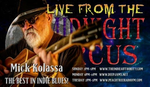 LIVE from the Midnight Circus 8/9/2015 with Mick Kolassa!