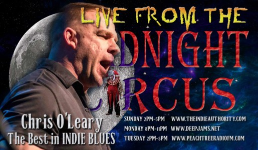 LIVE from the Midnight Circus 9/20/2015 with Chris O'Leary