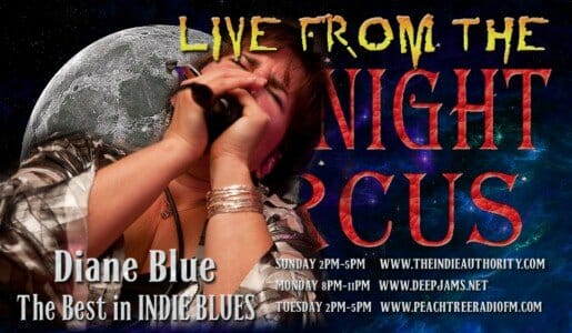 LIVE from the Midnight Circus 9/29/2015 with Diane Blue