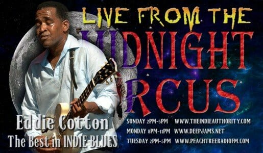 LIVE from the Midnight Circus 9/22/2015 with Eddie Cotton