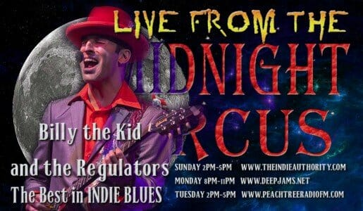 LIVE from the Midnight Circus 9/8/2015 with Billy the Kid and the Regulators