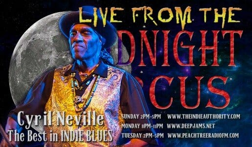 LIVE from the Midnight Circus 9/7/2015 with Cyril Neville!
