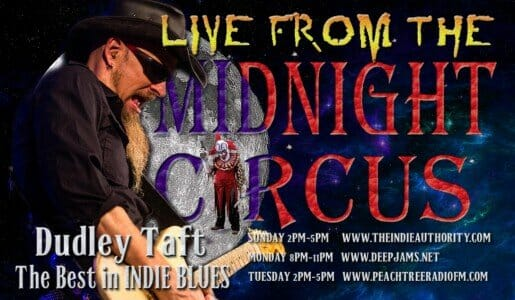LIVE from the Midnight Circus 9/13/2015 With Dudley Taft