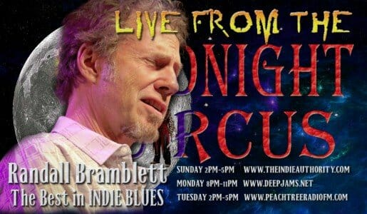LIVE from the Midnight Circus 9/14/2015 with Randall Bramblett