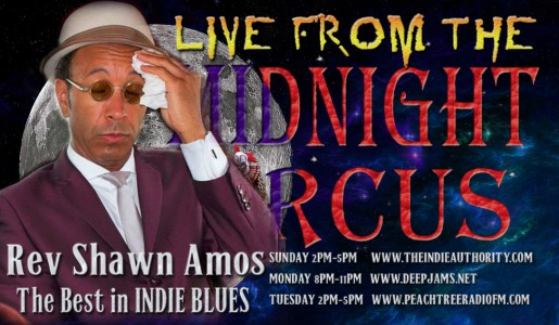 LIVE from the Midnight Circus 9/27/2015 with The Reverend Shawn Amos