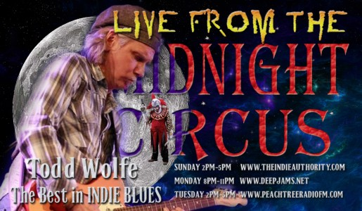 LIVE From the Midnight Circus 9/6/2015 With Todd Wolfe