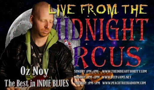 LIVE from the Midnight Circus 10/4/2015 with Oz Noy