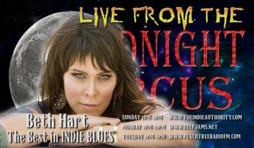 LIVE from the Midnight Circus 1/25/2016 with Beth Hart