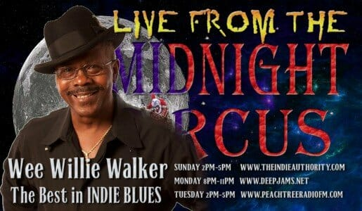 LIVE from the Midnight Circus 1/19/2016 With Wee Willie Walker