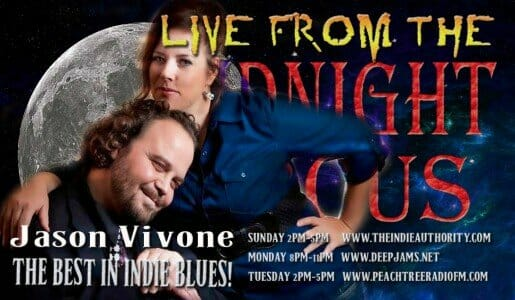Live from the Midnight Circus 1/11/2016 with Jason Vivone