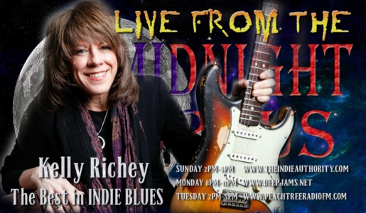 LIVE From The Midnight Circus 1/24/2016 With Kelly Richey!