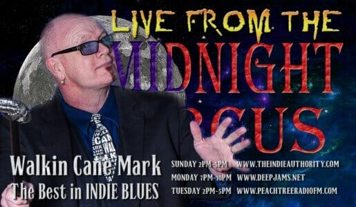 LIVE from the Midnight Circus 2/1/2016 With Walkin Cane Mark!