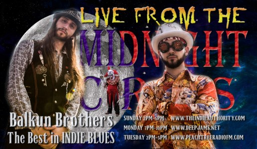 LIVE from the Midnight Circus 1/31/2016 with Steve Balkun of the Balkun Brothers!