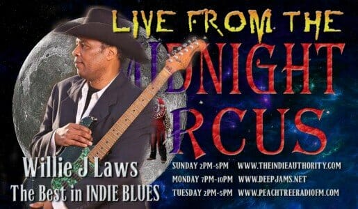 LIVE from the Midnight Circus 2/8/2016 with Willie J Laws!
