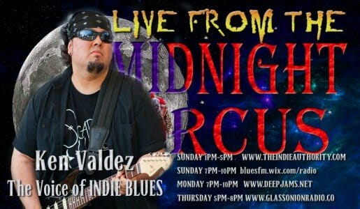 LIVE from the Midnight Circus featuring Ken Valdez