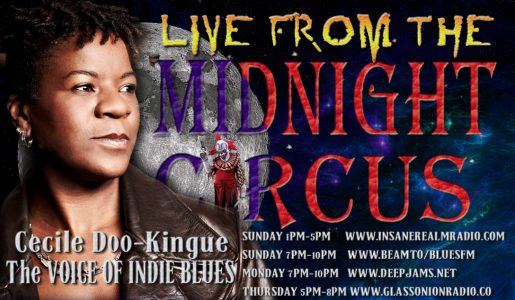 LIVE from the Midnight Circus featuring Cecile Doo-Kingue!
