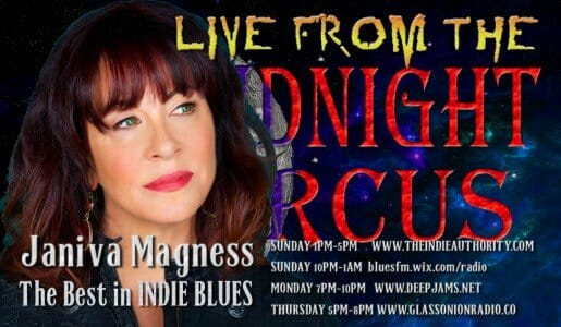 LIVE from the Midnight Circus Featuring Janiva Magness!