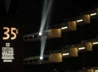 2014 Montreal 35th Anniversary logo in theater