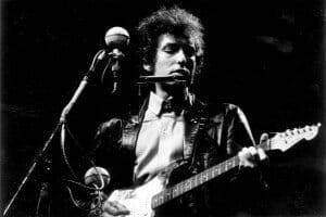 Bob Dylan at Newport Folk Festival 1965