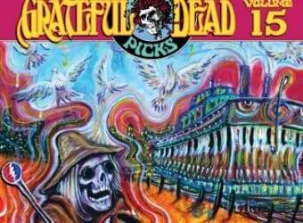 Grateful Dead Dave's Picks 15 cover