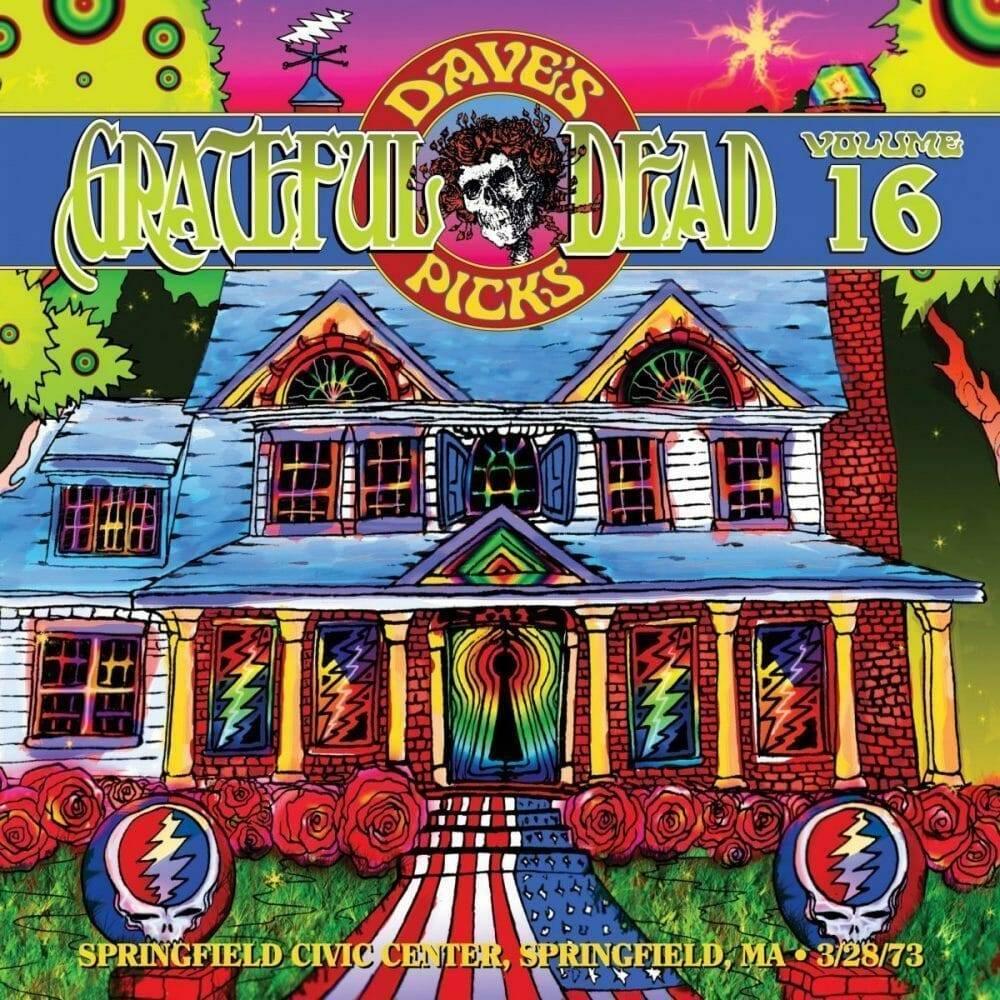 Grateful Dead Dave's Picks 16 cover