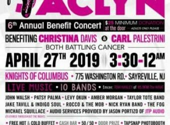 Jammin for Jaclyn Poster 2019