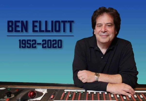 Ben Elliot 1952-2020